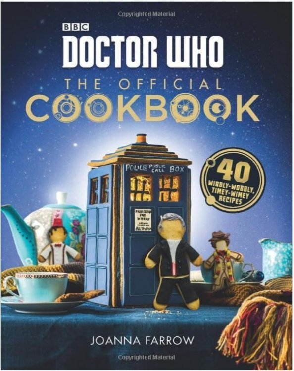 Книга Doctor Who: The Official Cookbook (Твёрдый переплёт) (Eng)
