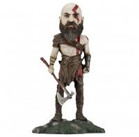 Фигурка God of War NECA Head Knocker - Kratos Figure