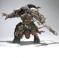 DC World of Warcraft Tauren Hunter: Korg Highmountain Deluxe Action Figure