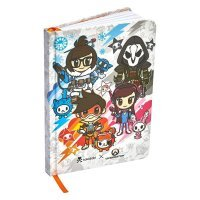 Блокнот Овервотч tokidoki x Overwatch Notebook
