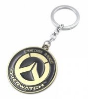 Брелок Overwatch Keychain - Metal Blizzard bronze