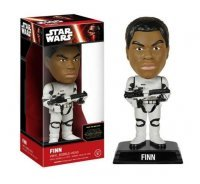 Фигурка Star Wars - The Force Awakens Stormtrooper Gear Finn Bobble Head
