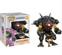 Фигурка Overwatch Funko Pop! Vinyl Carbon Fiber D.Va & MEKA Buddy (Blizzard Exclusive)
