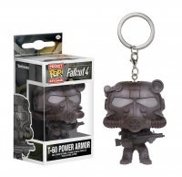 Брелок Fallout Pocket Pop! Vinyl Figure Key Chain - T60 Power Armor