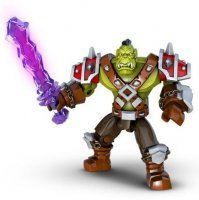 Mega Bloks World of Warcraft Set: Orc Warrior Ragerock