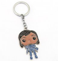 Брелок Overwatch Keychain - Pharah metal