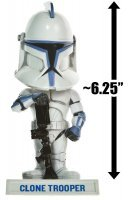 Фигурка Star Wars - Clone Trooper Bobble-Head Figure