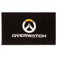 "Полотенце Overwatch Logo Beach Towel Black 60"" x 35"""