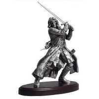 Фигурка - Lord of the Rings/Hobbit ARAGORN Pewter  statue Figure (NECA)