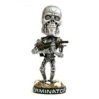 Фигурка Terminator Endoskeleton Head Knocker