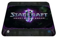 Коврик SteelSeries QcK Starcraft II Heart of the Swarm Logo