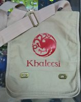 Сумка Game of Thrones Targaryen Messenger Bag №2