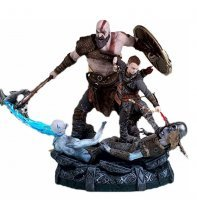 Статуэтка God of War 4: KRATOS and ATREUS STATUE Collectors Edition