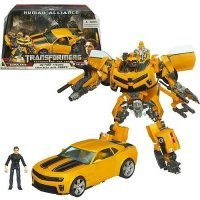 Фигурка Transformers Bumblebee with Sam  robot Action figure