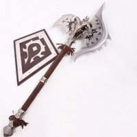 World of Warcraft Shadowmourne Axe 1 : 1 Full Metal