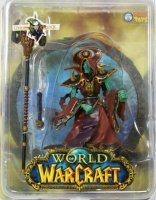 World of Warcraft Ultra Scale Undead Warlock Sota Toys 25 см.