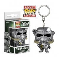 Брелок Fallout Pocket Pop! Vinyl Figure Key Chain - Power Armor