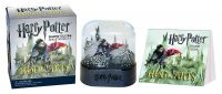 Фигурка Harry Potter - Hogwarts Castle Snow Globe and Sticker Kit (Miniature Editions)