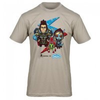 Футболка tokidoki x World of Warcraft Shirt (мужск., размер L)