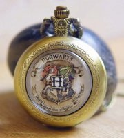 Часы Harry Potter Hogwarts Pocket Watch Necklace