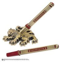 Коллекционная ручка Harry Potter - Gryffindor House Pen and Desk Stand