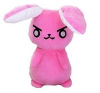 Мягкая игрушка - Overwatch Dva Pink Rabbit Plush 50 cм
