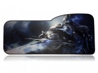 Коврик World of Warcraft Large Gaming Mouse Pad - Arthas Lich King (70*32 см) Curve
